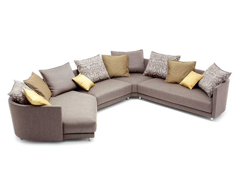 Ecksofa aus stoff kollektion onda by rolf benz design for Rolf benz onda abverkauf