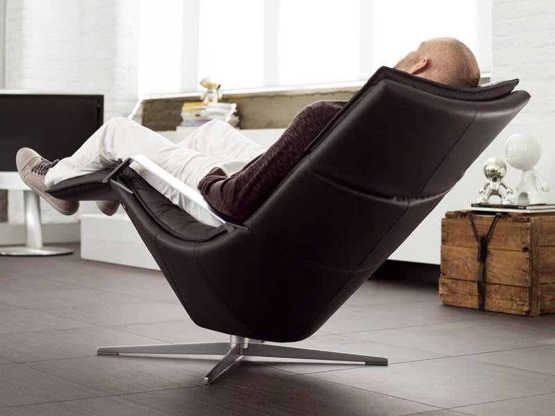 Designer Sessel Mit Fußschemel : Verstellbarer sessel mit fu?schemel rolf benz by