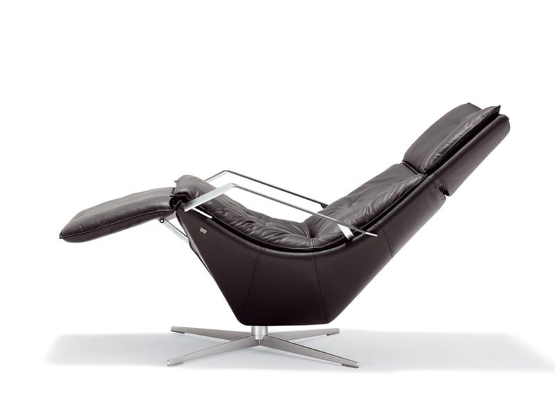 Verstellbarer Sessel Mit Fu Schemel Rolf Benz 577 By Rolf