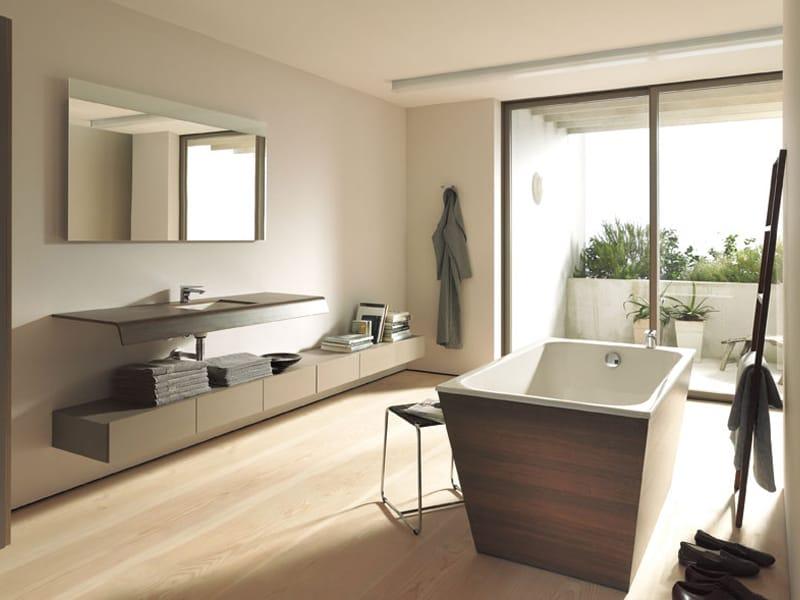 baignoire il t rectangulaire en acrylique collection durastyle home by duravit italia design. Black Bedroom Furniture Sets. Home Design Ideas