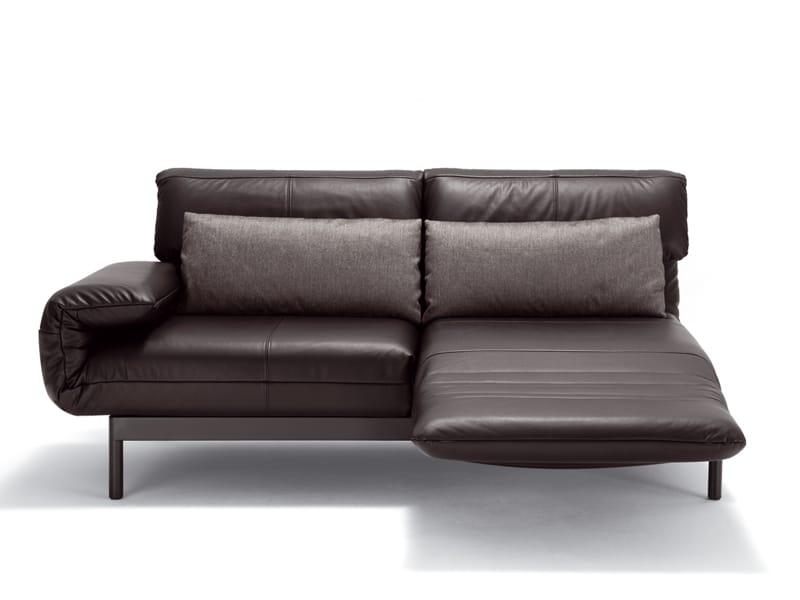 plura sofa aus leder by rolf benz design norbert beck. Black Bedroom Furniture Sets. Home Design Ideas