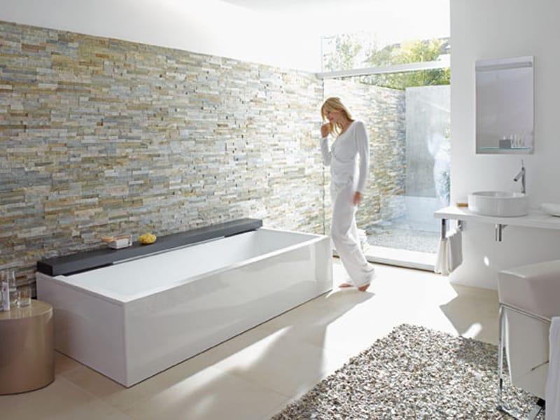 Nahho vasca da bagno in acrilico by duravit design eoos - Bagno rettangolare ...