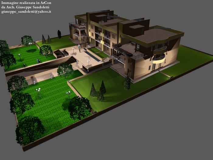 Progettazione cad 2d 3d e rendering arcon maxi 3d by for Progettazione mobili 3d