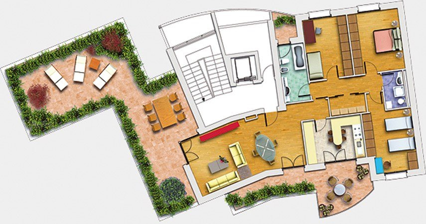 Disegno tecnico cad 2d 3d vectorworks basic by videocom for Disegno 3d online