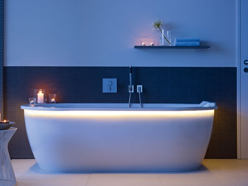 Darling new vasca da bagno in acrilico by duravit design sieger design - Vasca da bagno acrilico ...