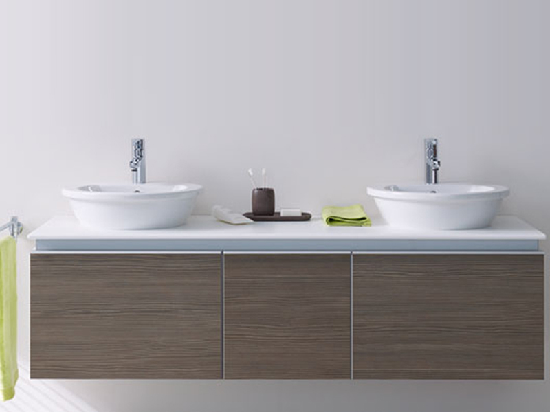 darling new countertop washbasin by duravit design sieger. Black Bedroom Furniture Sets. Home Design Ideas