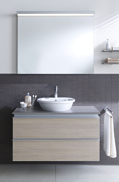 darling new countertop washbasin by duravit design sieger design. Black Bedroom Furniture Sets. Home Design Ideas