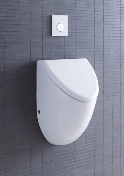 urinoir suspendue en c ramique fizz by duravit design sieger design. Black Bedroom Furniture Sets. Home Design Ideas