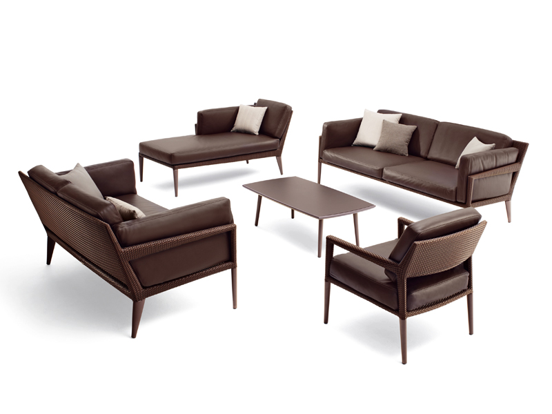 Tribeca 3 seater sofa by dedon design richard frinier - Dedon outdoor furniture prices ...