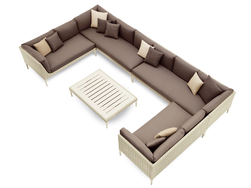 mu canap by dedon design toan nguyen. Black Bedroom Furniture Sets. Home Design Ideas