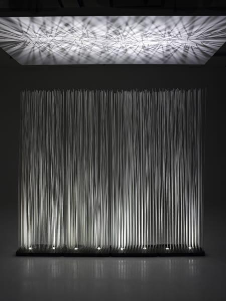 garten trennwand sticks enlightened by extremis design globalhaus. Black Bedroom Furniture Sets. Home Design Ideas