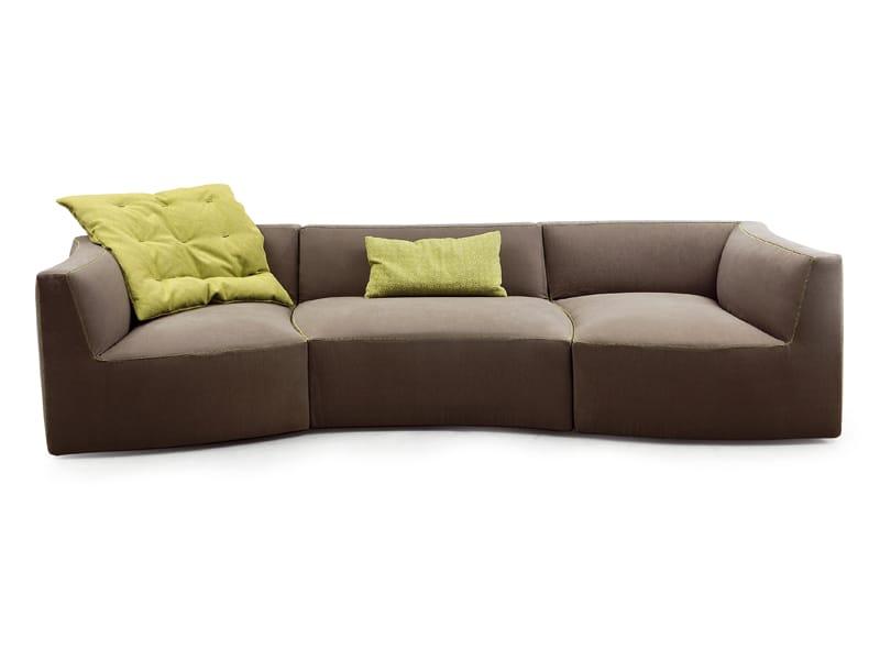 canap modulable river by saba italia design sergio bicego. Black Bedroom Furniture Sets. Home Design Ideas