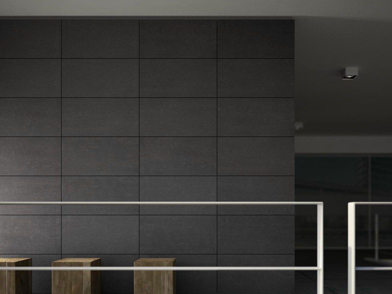 Pavimento rivestimento per interni ed esterni sistem n by marazzi - Revestimiento paredes interiores pizarra ...