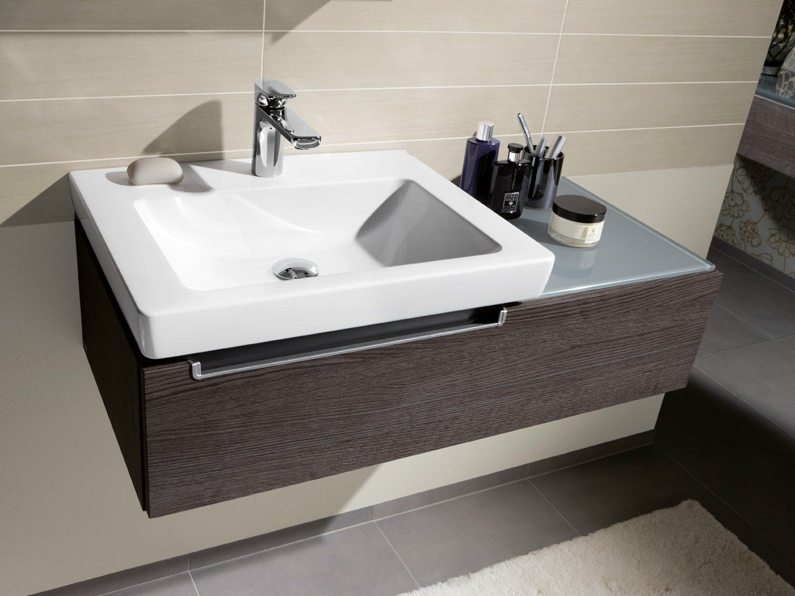 subway 2 0 rectangular washbasin by villeroy boch. Black Bedroom Furniture Sets. Home Design Ideas