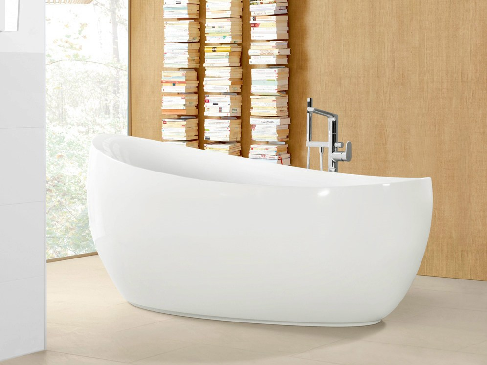 Aveo new generation bathtub by villeroy boch design for New bathtub designs