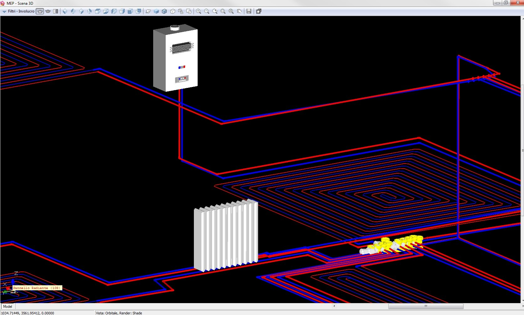 software di progettazione termotecnica clima estivo by