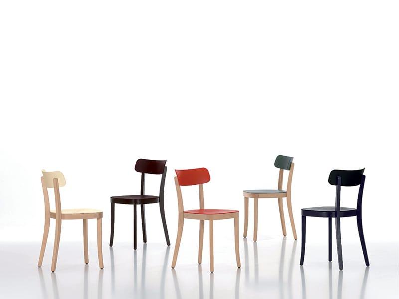stuhl aus holz basel chair by vitra design jasper morrison. Black Bedroom Furniture Sets. Home Design Ideas