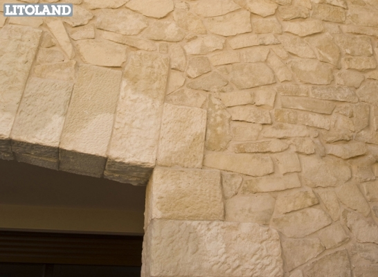 Mansus revestimiento de pared by sas italia aldo larcher - Piedra artificial para fachadas ...