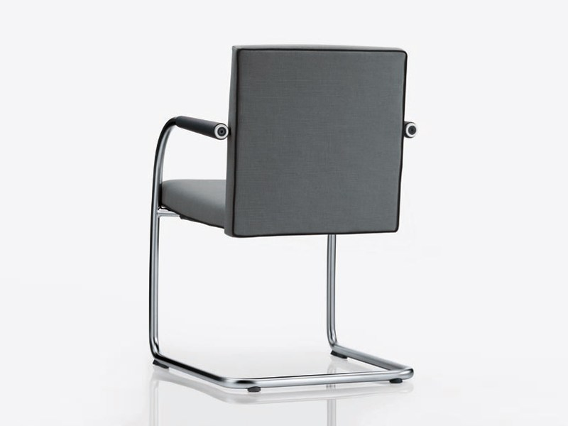 Sedia d 39 attesa a sbalzo visasoft by vitra design antonio for Sedia design vitra