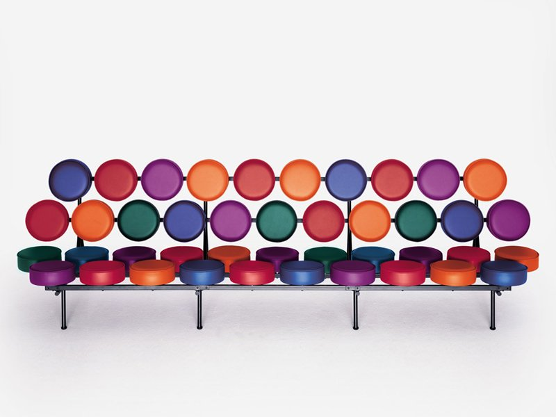 Canap modulable marshmallow sofa by vitra design george for Canape nelson