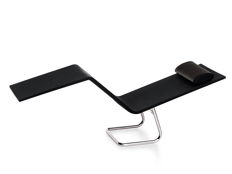 Polyurethane lounge chair mvs chaise by vitra design for Chaise design vitra