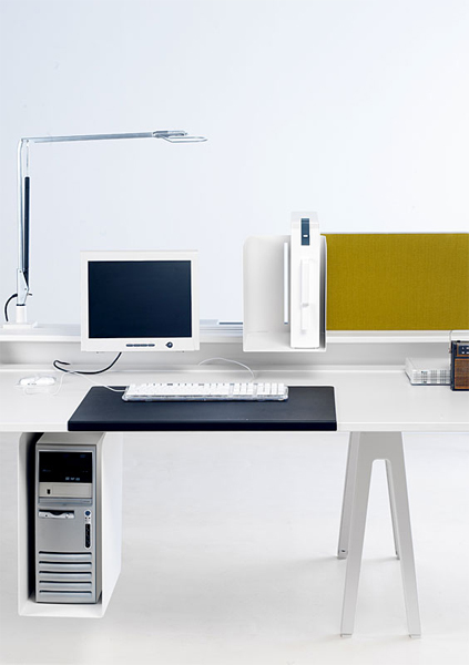 bureau op rationnel joyn single desk by vitra design ronan erwan bouroullec. Black Bedroom Furniture Sets. Home Design Ideas