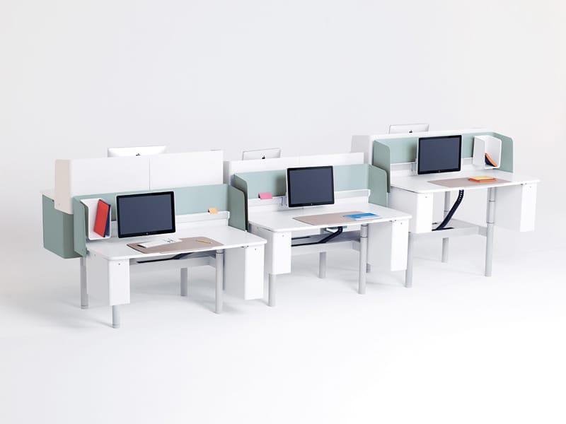 Office workstation playns by vitra design ronan erwan for Office design vitra