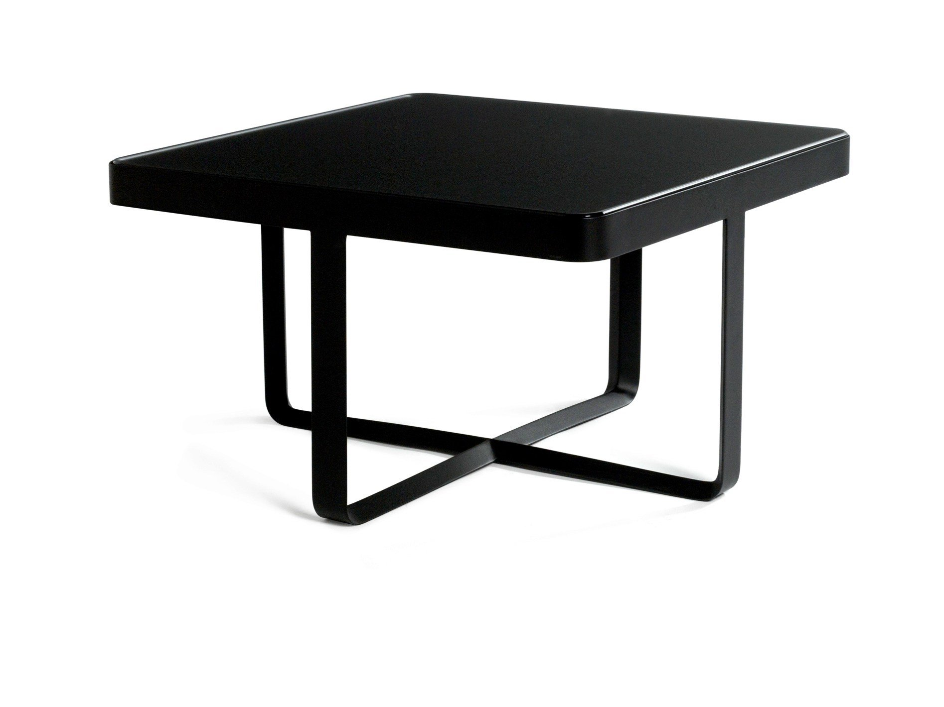 LOW SQUARE GARDEN SIDE TABLE COFFEE TABLE NEUTRA COLLECTION BY TRIB