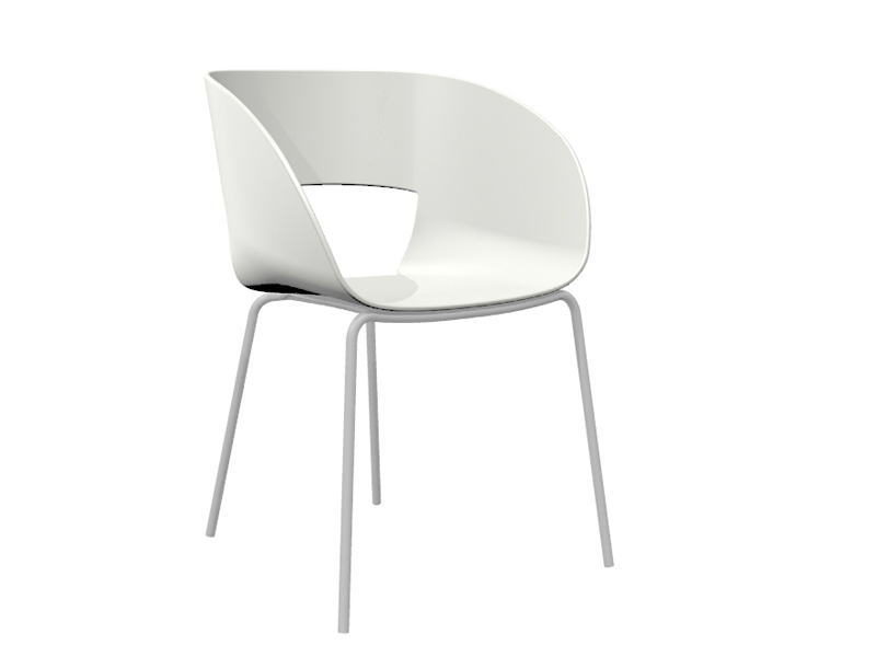 Vintage Stuhl Aus Kunststoff By Trib Design Bram Bollen