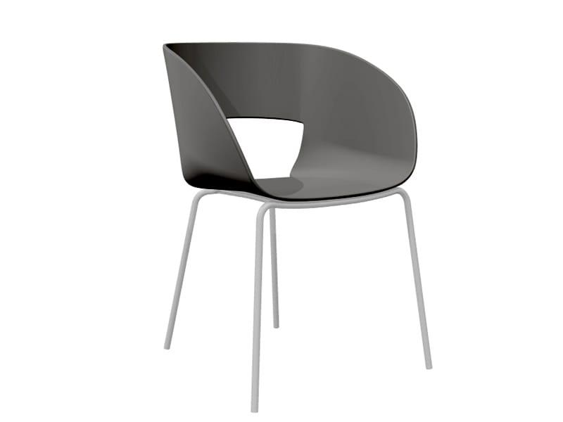 vintage stuhl aus kunststoff by trib design bram bollen. Black Bedroom Furniture Sets. Home Design Ideas