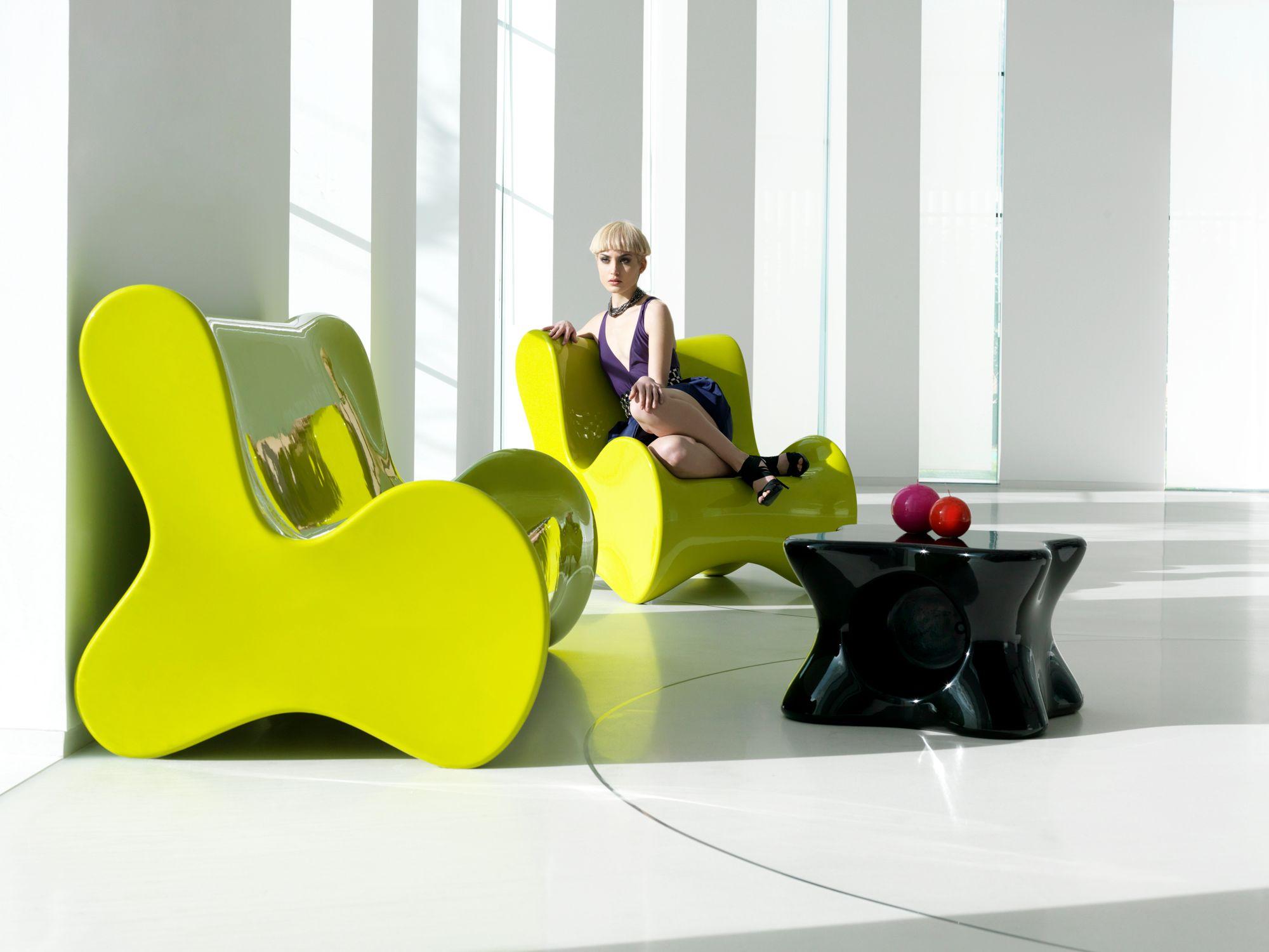Doux Garden Armchair By Vondom Design Karim Rashid