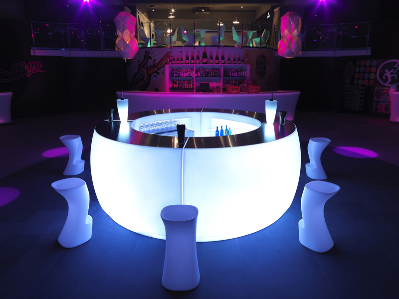 Barra De Bar Sistema Iluminacin FIESTA By VONDOM