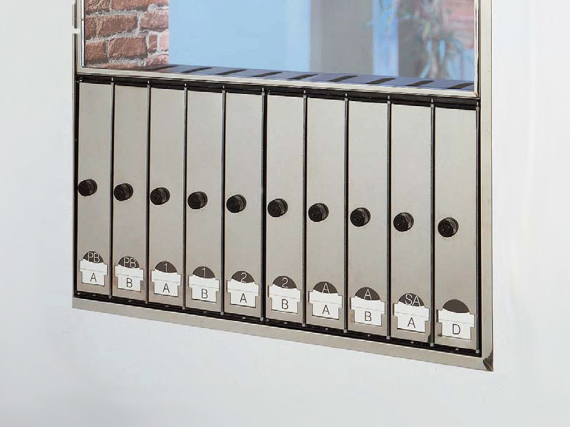 Cassetta postale 3 4 5 by bd barcelona design design oscar tusquets blanca llu s clotet - Cassetta postale design ...