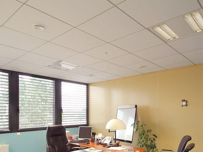 Faux plafond acoustique r sistant l 39 humidit rockfon for Rockfon faux plafond
