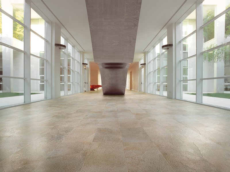 Porcelain stoneware wall floor tiles mineral chrom by for Carrelage casalgrande padana