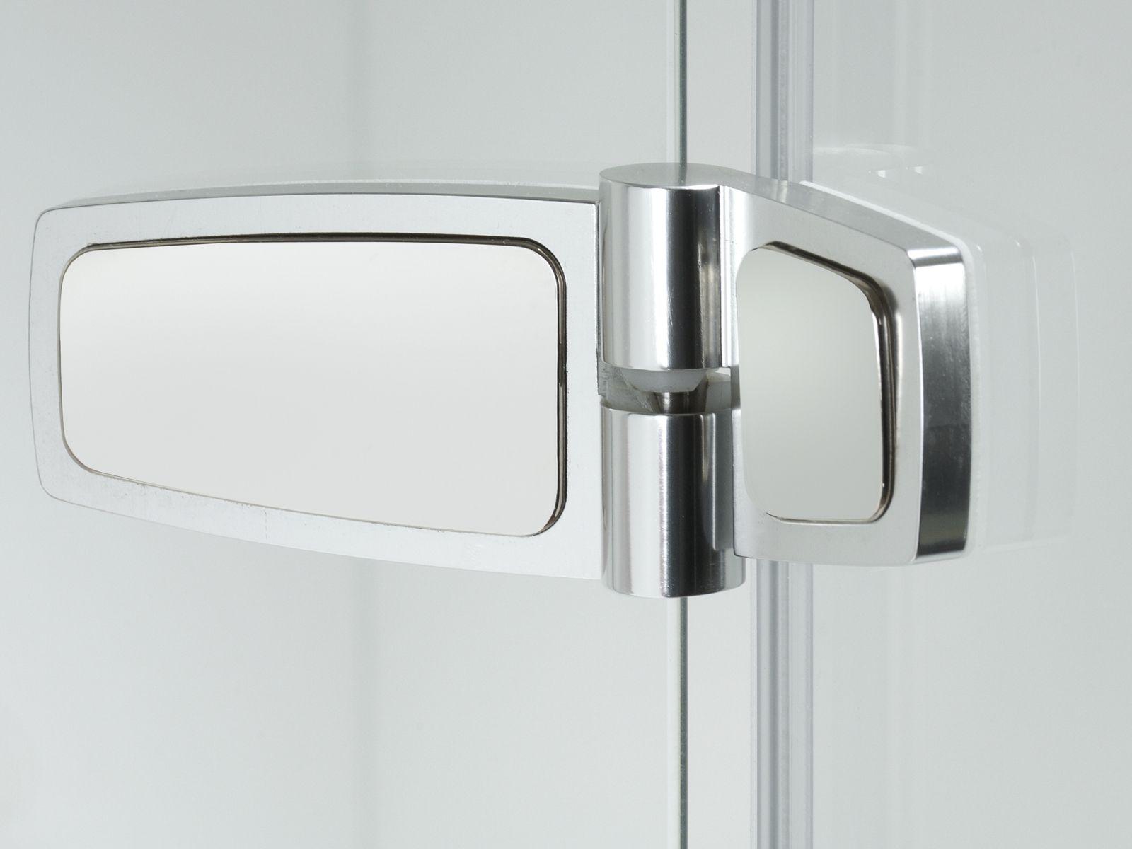 Box doccia in vetro con porte a soffietto COMBI CF by Provex Industrie