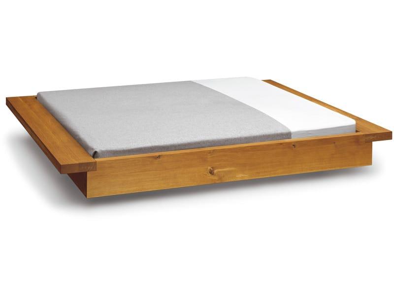 Cama de casal tatami de madeira pa02 noah by e15 design for Cama tatami
