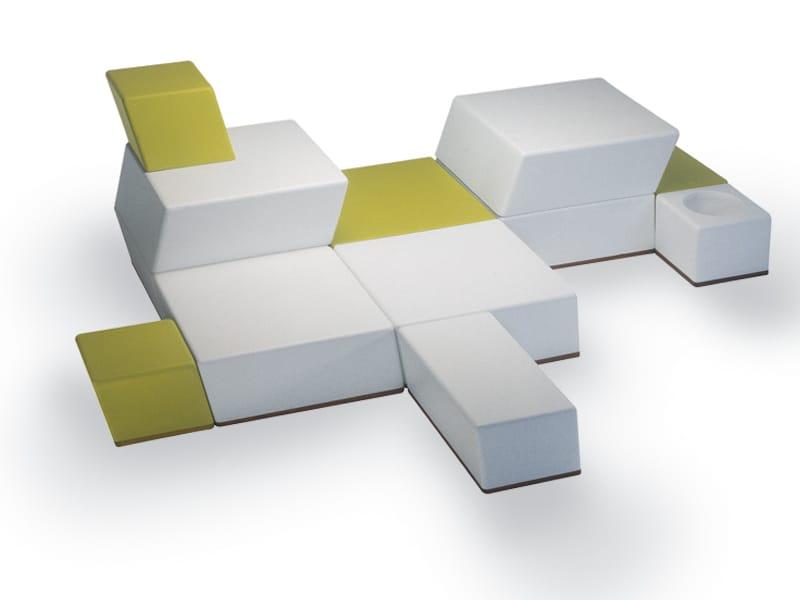 univers modulares sofa by fischer m bel design wolf udo wagner. Black Bedroom Furniture Sets. Home Design Ideas