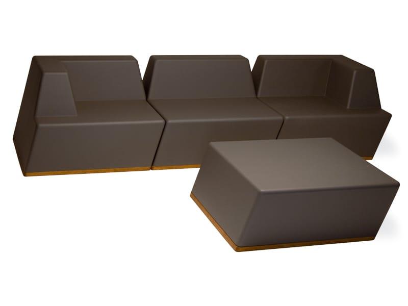 univers garden pouf by fischer m bel design wolf udo wagner. Black Bedroom Furniture Sets. Home Design Ideas