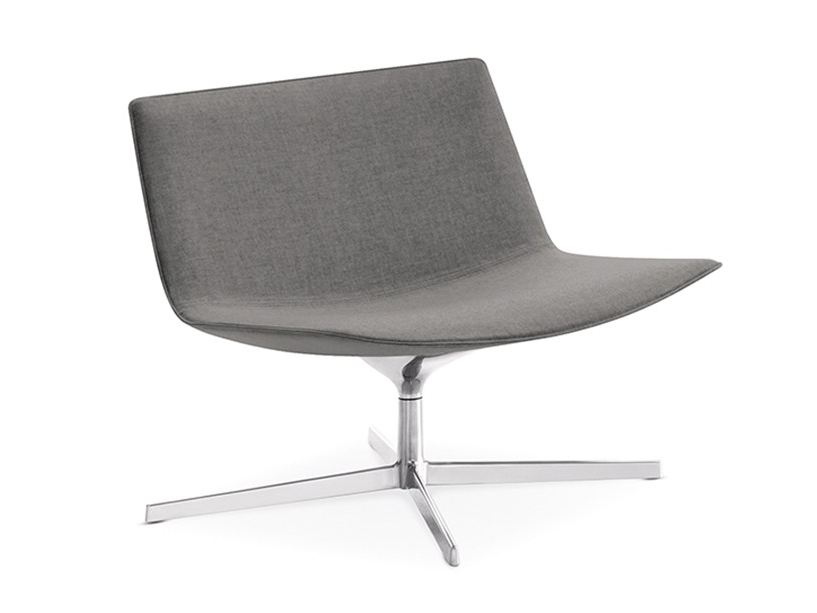 Catifa 80 easy chair with 4 spoke base by arper design for 80s chair design