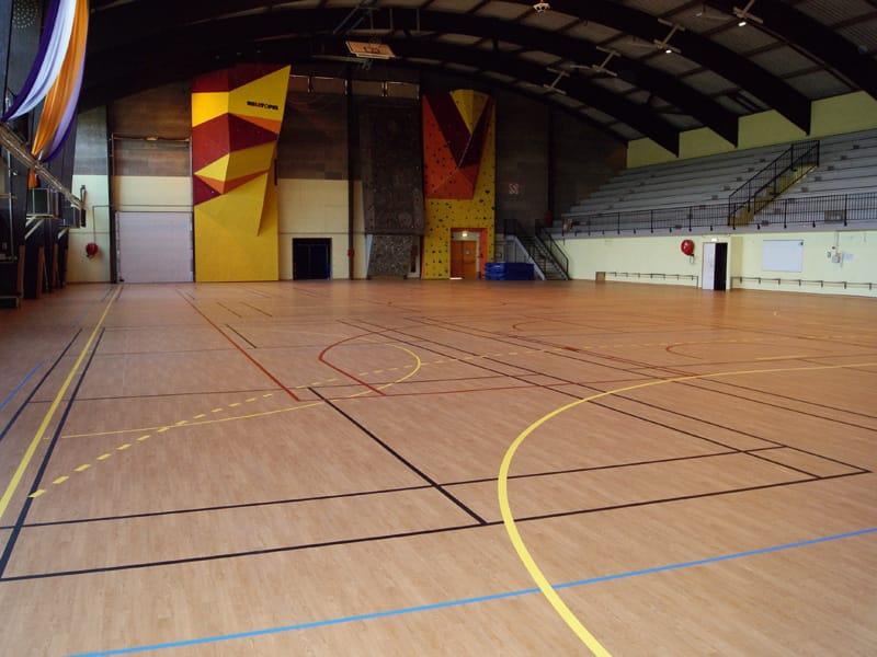 resilient sports flooring taraflex™ sport m comfortgerflor
