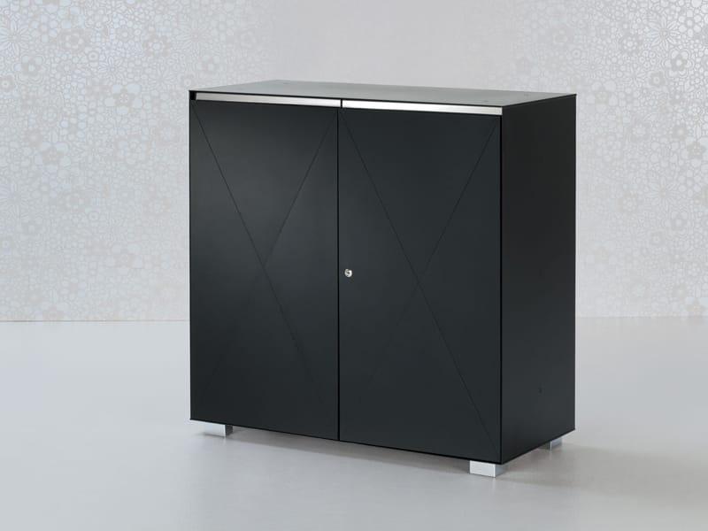Mobile ufficio basso in acciaio collezione utility by for Mobile ufficio basso
