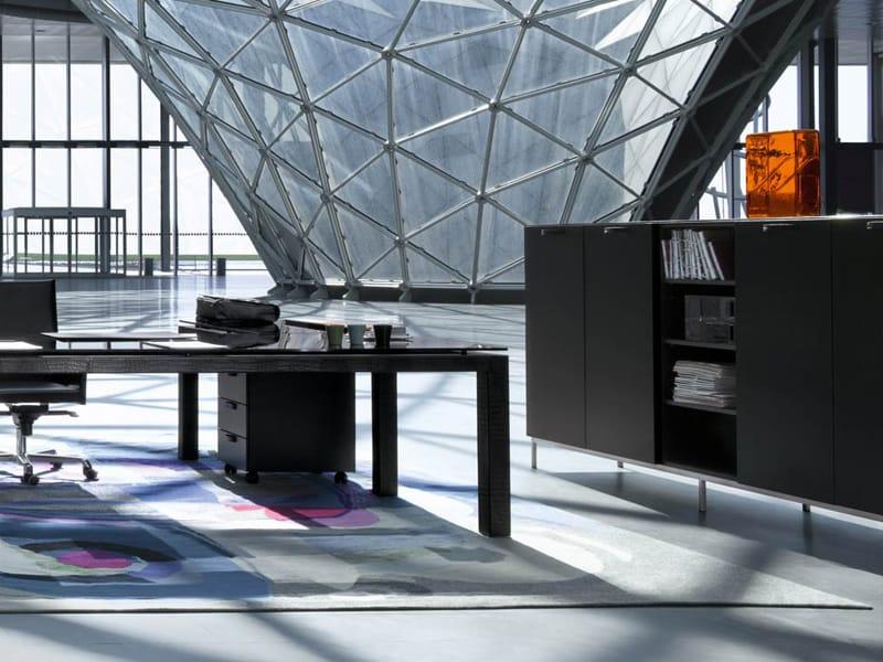 Valeo mobile ufficio by enrico pellizzoni design for Mobile ufficio basso
