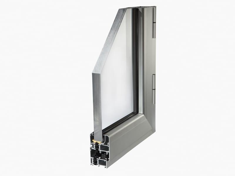 Finestra alluminio a taglio termico planet 50tt by alsistem - Profili alluminio per finestre ...