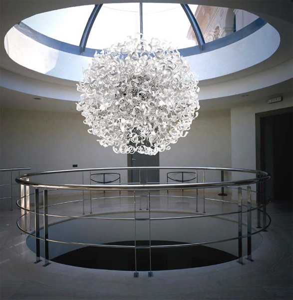 lampadario astro : Lampadario in cristallo ASTRO Lampadario - Metal Lux di Baccega R ...