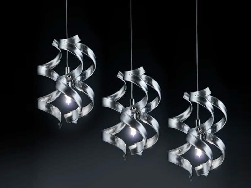 Astro suspension by metal lux di baccega r c - Suspension en cristal ...