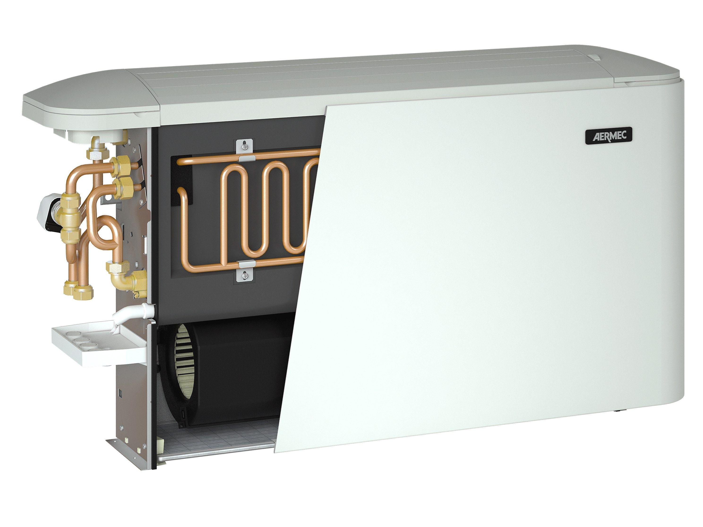 ventilo convecteur pour pose murale omnia radiant by aermec. Black Bedroom Furniture Sets. Home Design Ideas