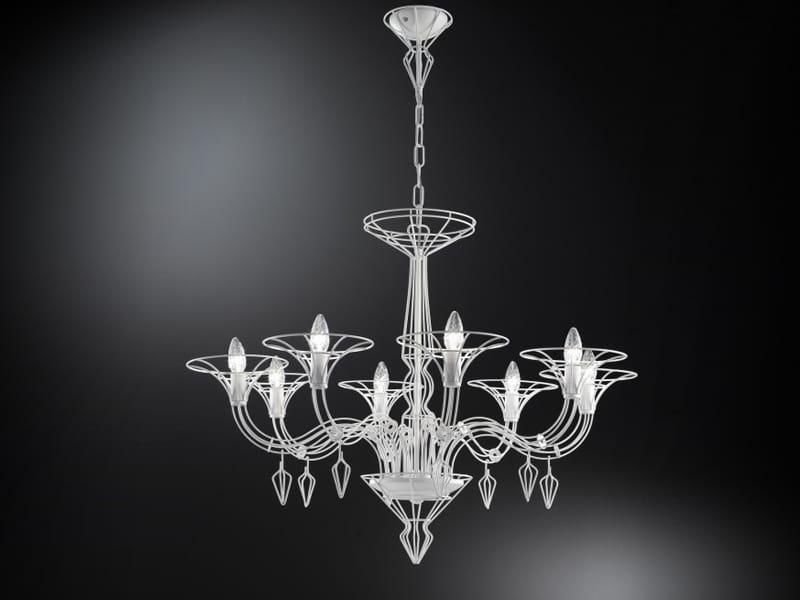 DEDALO Chandelier by Metal Lux di Baccega R. & C. design ...