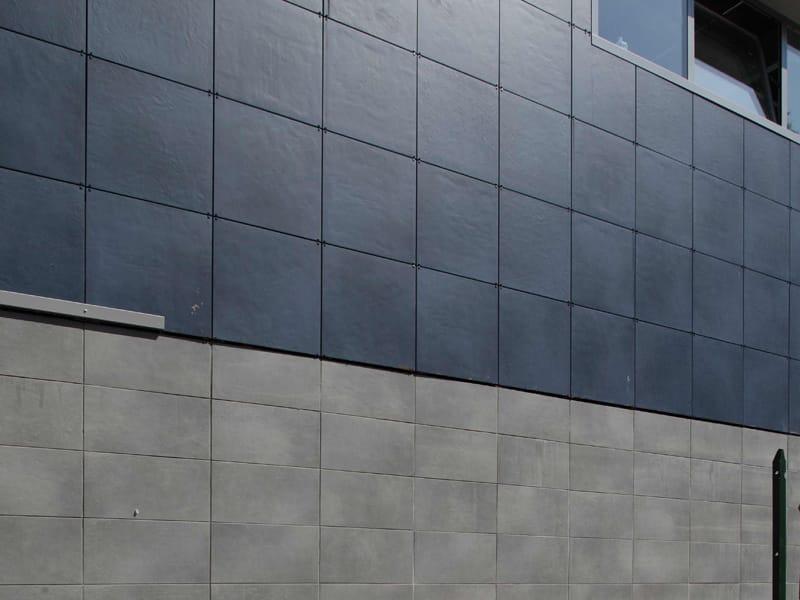 Facciata ventilata parete ventilata by ceramiche caesar - Posa piastrelle parete ...