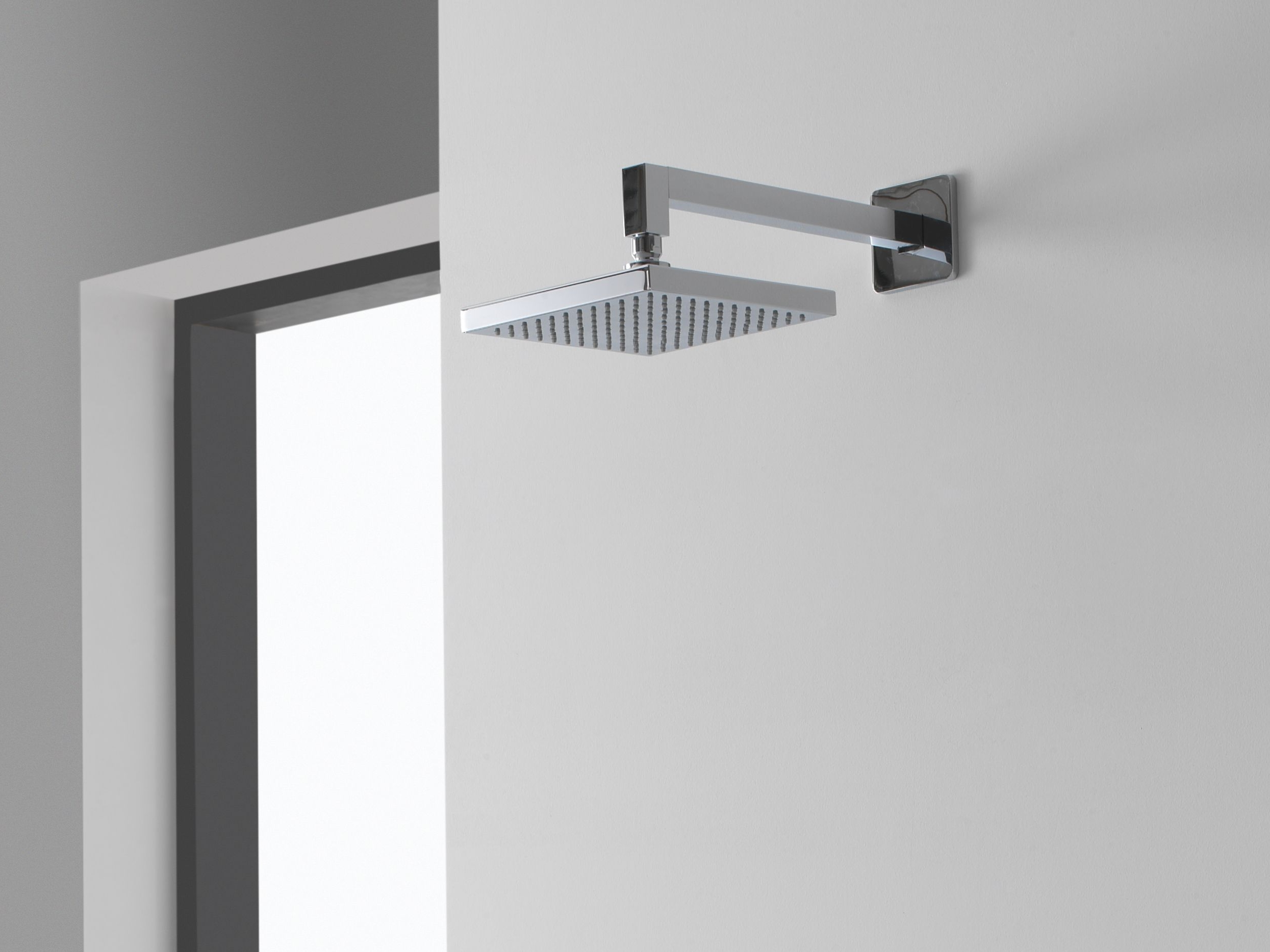 Overhead Shower With Arm Solar Collection By Graff Europe West
